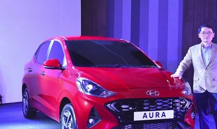 Hyundai Aura ki booking shuru