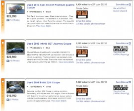 Tips for Buying a Car on Craigslist