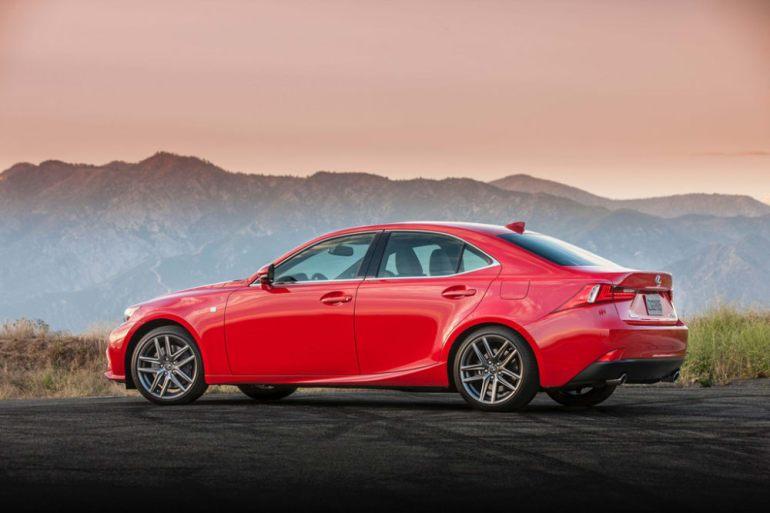 2016 Lexus IS Gets New Turbo Engine