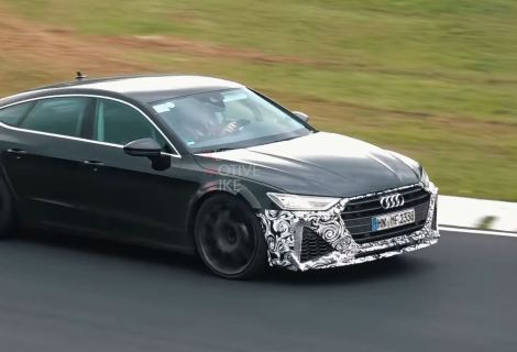 2020 Audi RS7 Sounds Fantastic, Has Above-Average Looks at the Nurburgring