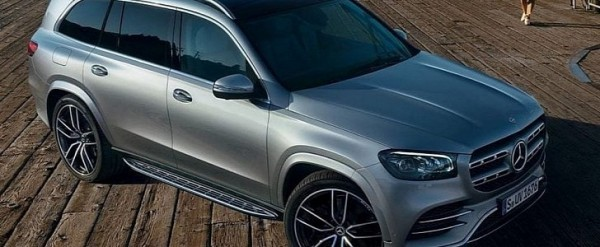 2020 Mercedes GLS Official Photos Leaked Ahead of New York Debut
