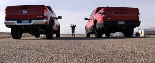 Ram 1500 Rebel Drag Races Ram 2500 Power Wagon