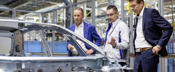 Volkswagen Production Lines Start Rolling for the ID.3 Electric Vehicle