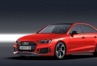 2020 Audi RS4 Rendered Again, Includes RS4 Sedan