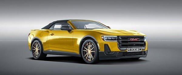 GMC Coupe Rendering Based on Camaro Somehow Looks Acceptable