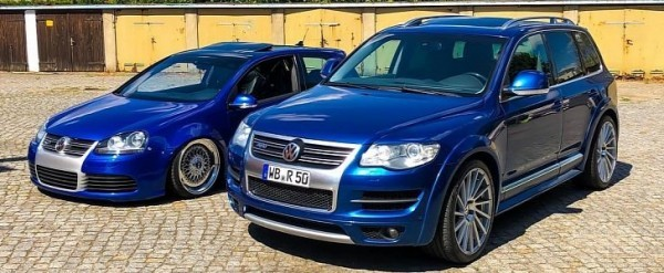 Matching Golf R32 and Touareg R50: When Volkswagens Had Curves