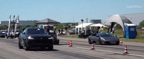 Lamborghini Urus Drag Races Murcielago, The Battle Is Savage
