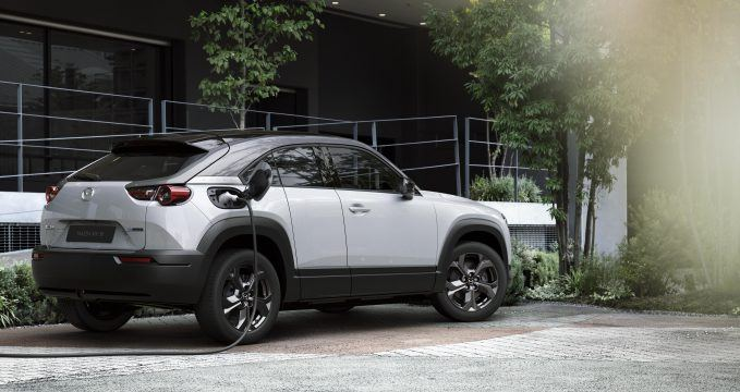2021 Mazda MX-30 Electric Crossover Revealed