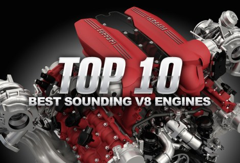 Top 10 Best Sounding V8 Engines