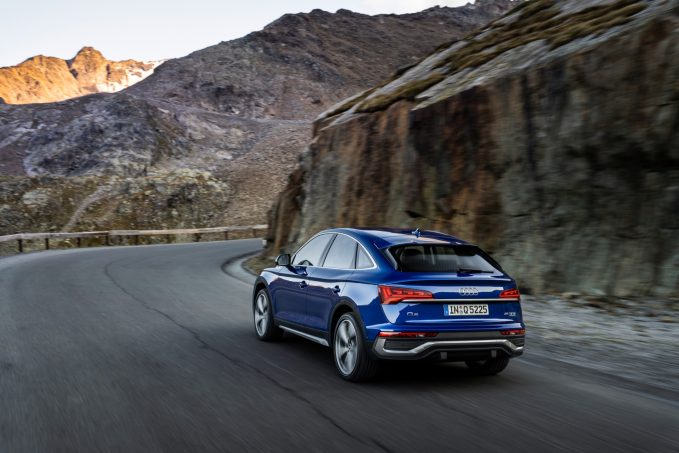 2021 Audi Q5 Sportback Joins the Coupe-Crossover Ranks
