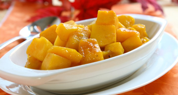 Delicious Thanksgiving Recipe: Caramelized Butternut Squash
