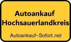 Autoankauf Hochsauerlandkreis