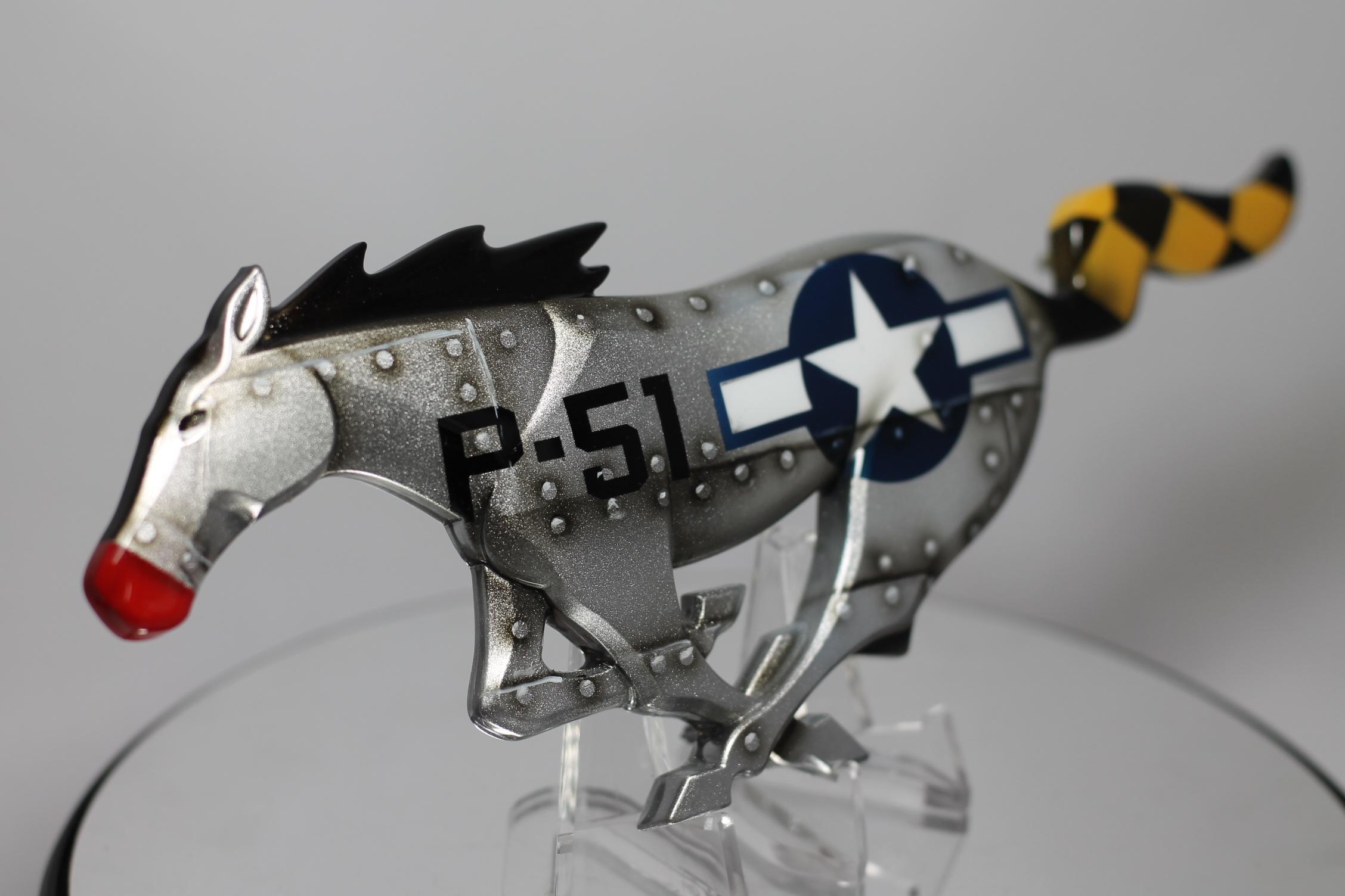 Custom Mustang Pony Emblems