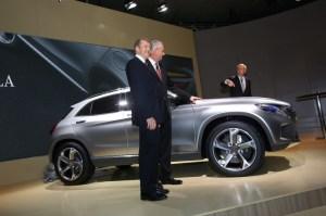 Studie Mercedes-Benz GLA.  Foto:     Auto-Medienportal.Net/Manfred Zimmermann