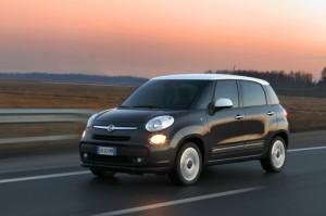 Dies ist der Fiat 500L mit Erdgasantrieb. Bildquelle: Fiat