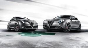 Alfa Romeo Giulietta Quadrifoglio Verde und Mito Quadrifoglio Verde.  Foto:     Auto-Medienportal.Net/Alfa Romeo