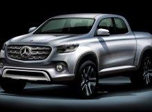So könnte der Pick-up von Daimler aussehen. Bildquelle: Daimler