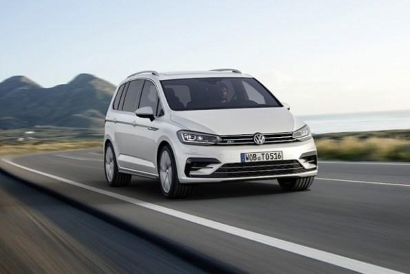 Dies ist die 3. Generation des VW Tourans. Bildquelle: VW AG