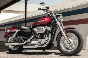 2017 HarleyDavidson 1200 Custom Velocity Red Sunglo | AUTOBICS