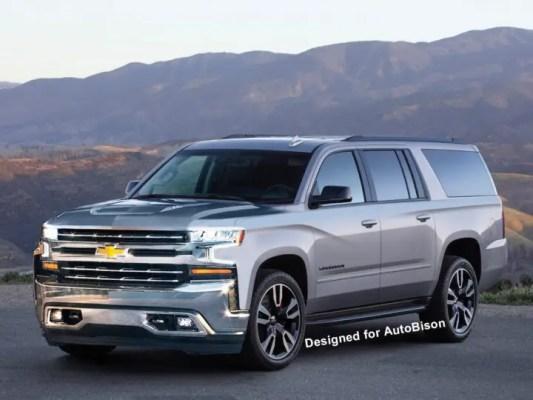 2021 Chevrolet Suburban rendering
