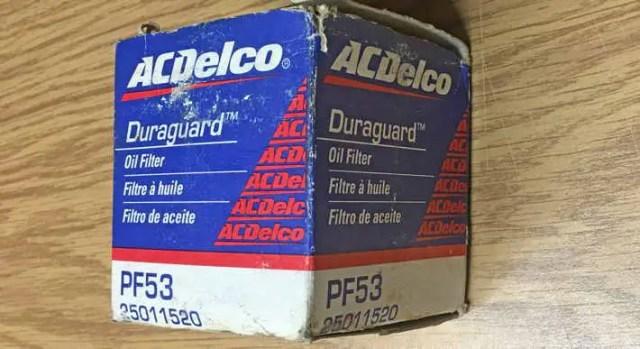 AC Delco (GM) parts