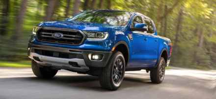 2020 Ford Ranger compact pickup