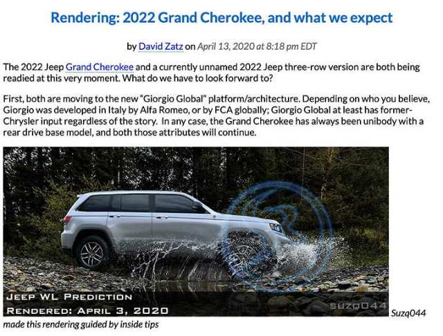 2022 Jeep Grand Cherokee WL