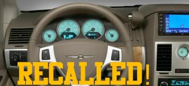2009 minivans recalled