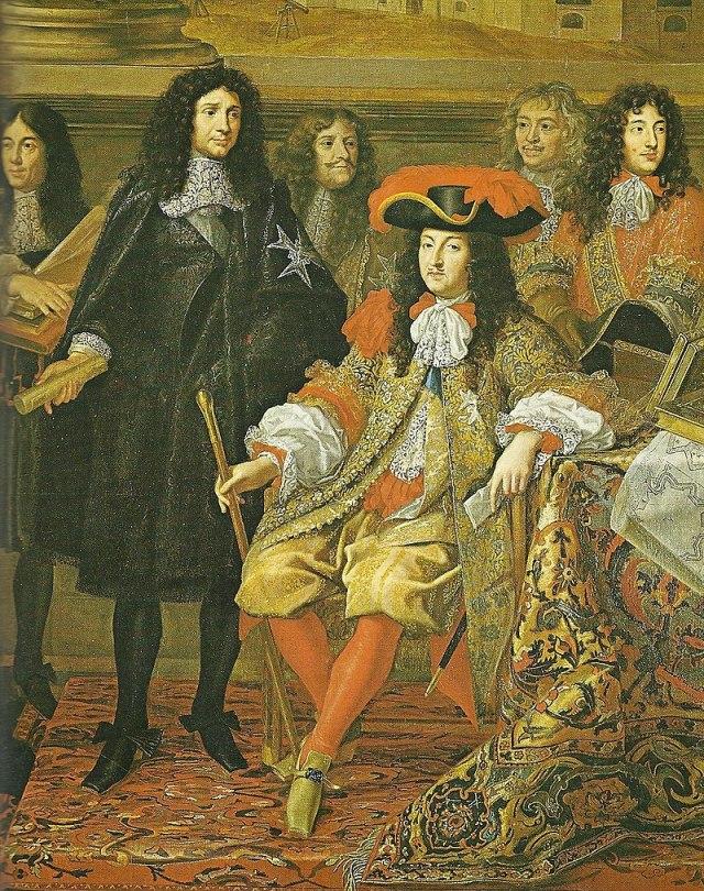 800px-Louis_XIV_und_Colbert_in_der_Akademie