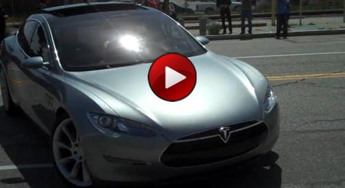 Video Tesla Model S Sedan Concept