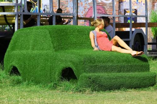 Grass cars