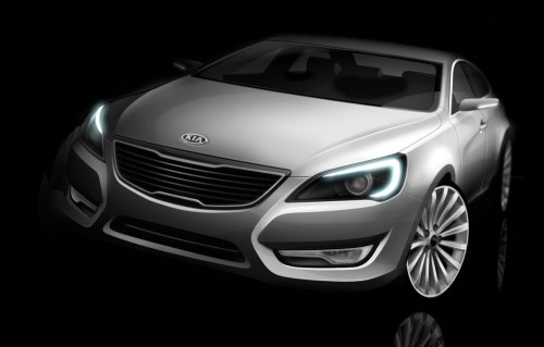 Kia VG Official Renderings
