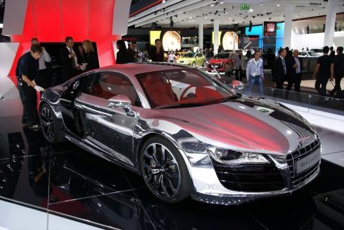Audi R8 V10 Chrome