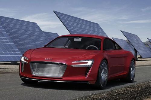 Audi R8 eTron Concept Leaked