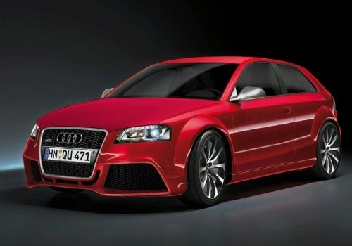 Audi RS3 artist rendering of A3 TDI Clubsport concept