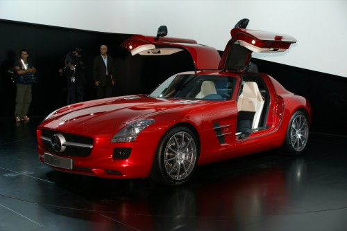 Mercedes-Benz SLS AMG Live at IAA 2009