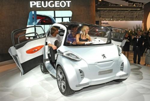 Peugeot BB1 Concept Live at Frankfurt 2009