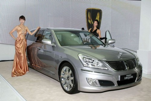Hyundai EQUUS Limousine - long wheel base