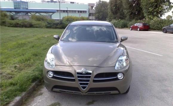 Alfa Romeo Kamal Concept spy photos 2009