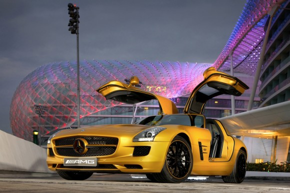 Mercedes-Benz SLS AMG Desert Gold Edition