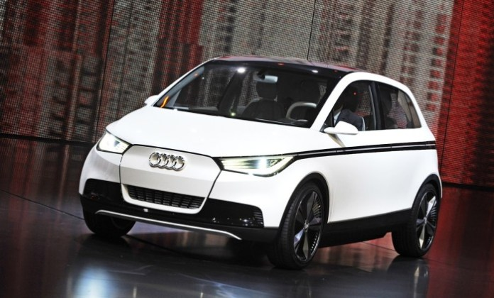 Audi A2 Concept in IAA 2011