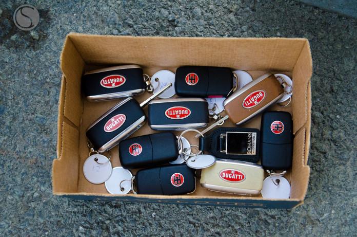 Bugatti Veyron Keys