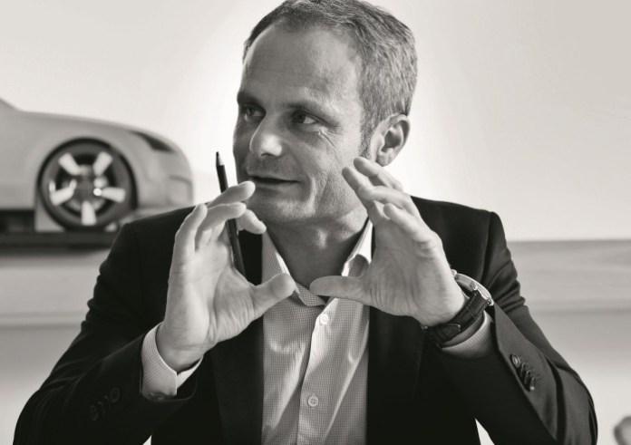Wolfgang Egger, Head of Audi Group Design, Audi TT 2014 teaser