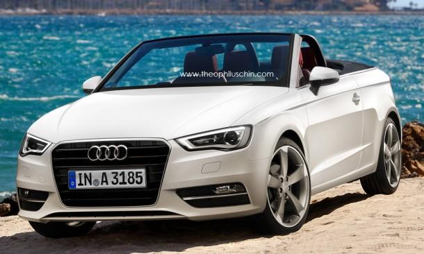 Audi A3 Cabriolet Rendering