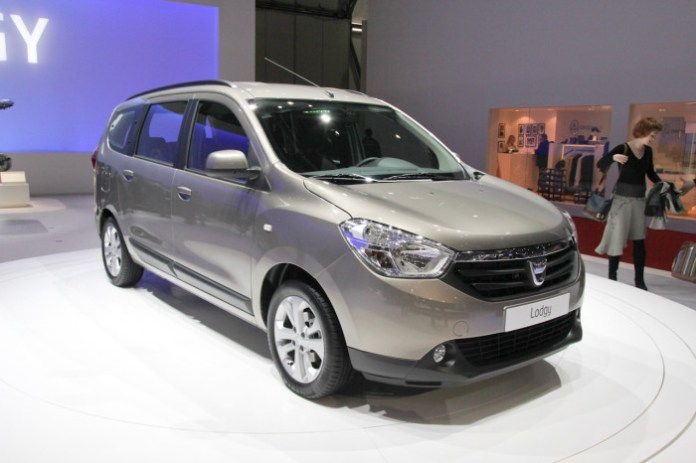 Dacia Lodgy Live in Geneva 2012