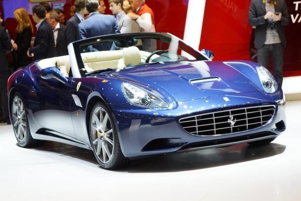 Ferrari California 2013 Live in Geneva 2012