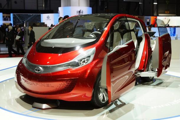 Tata Megapixel Concept Live in Geneva 2012
