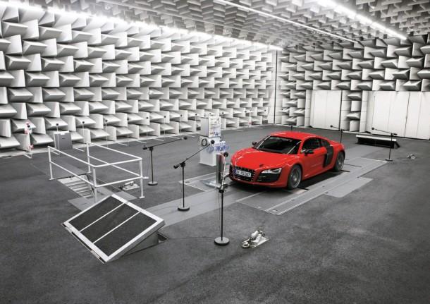 Audi R8 e-tron - Acoustic innovation: e-sound by Audi