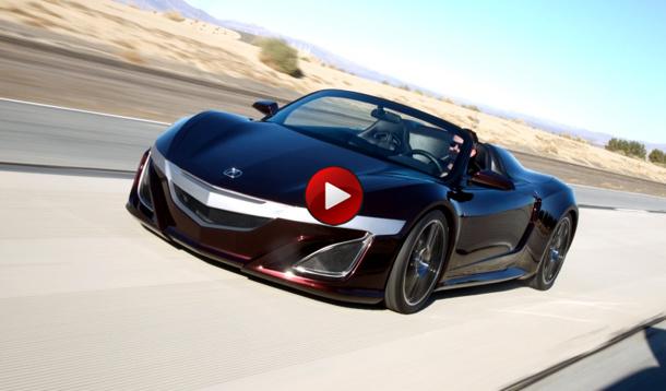Video ώ Acura Nsx Roadster Tony Stark