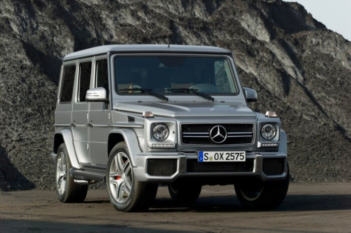 Mercedes G63 and G65 AMG 2012